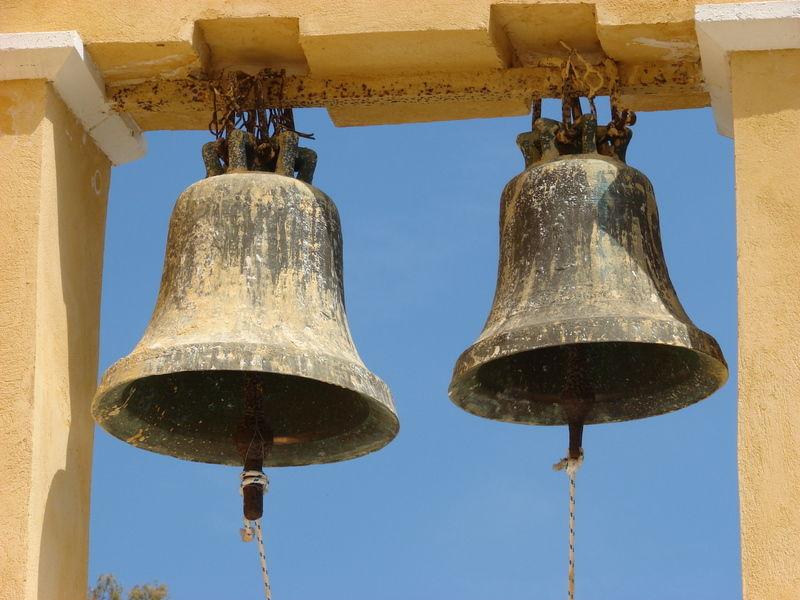 church bells of Holy Mary in Zakynthos