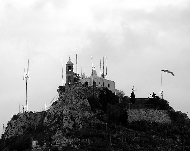The church of St. George on Lycabettus hill