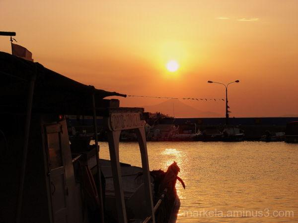 A fishing boat named Giorgos-Spiros