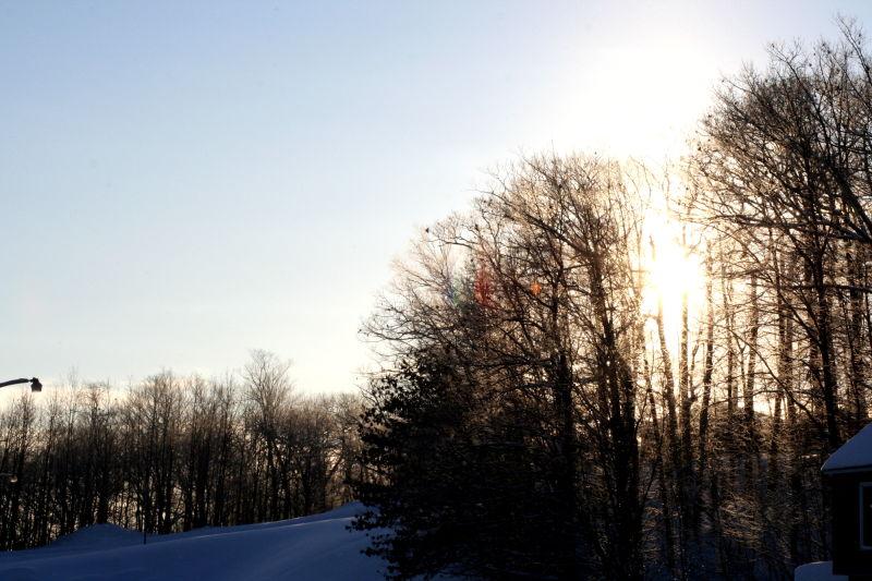 fine morning in Houghton, MI