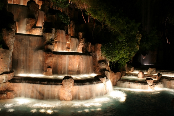Waterfalls at the Palazzo