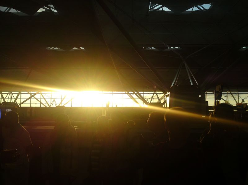 Light in Airport