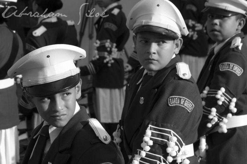 La banda infantil de guerra
