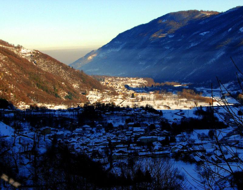Bobbio P. sotto la neve