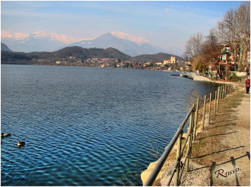 Passeggiata sul lago di Avigliana