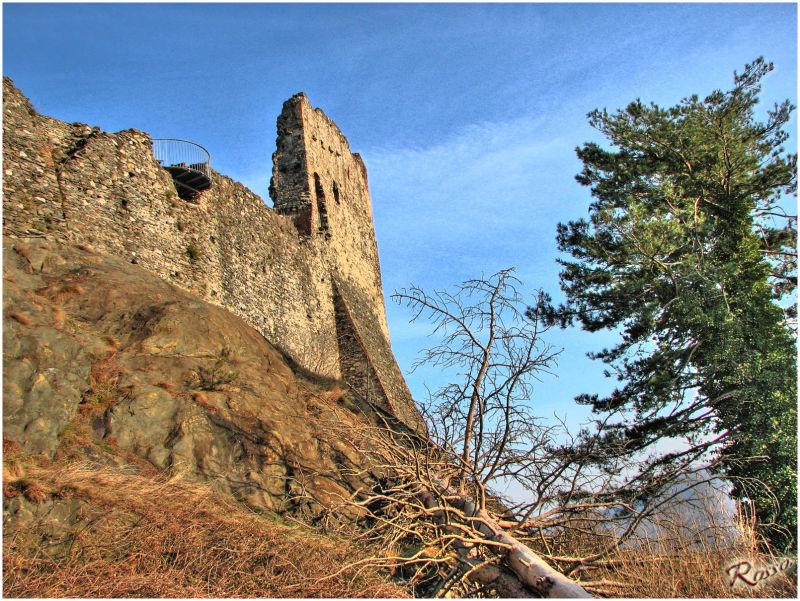 Ruderi del castello di Avigliana