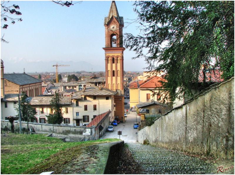 Panoramica di Cavour