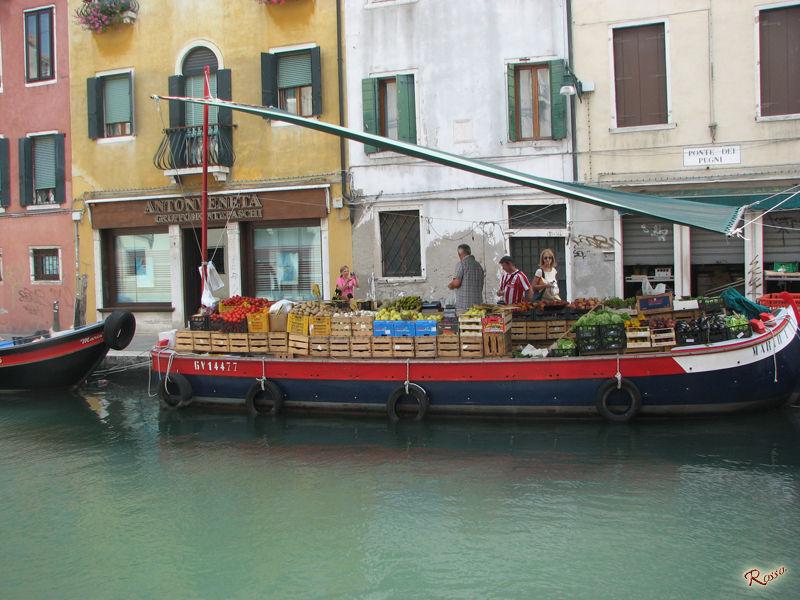 Venditori ambulanti di Venezia