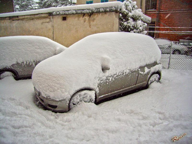 E' arrivata la neve...