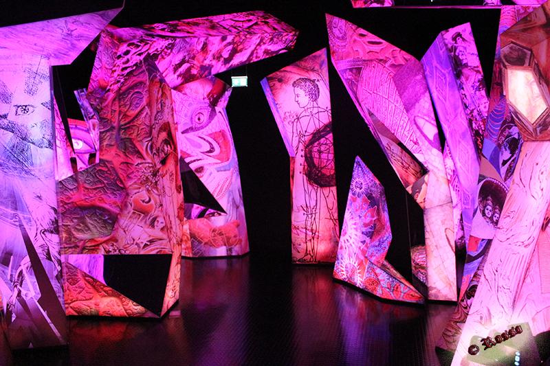 Arte e design sul cristallo Swarovski