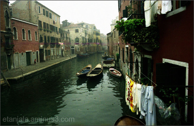 Along the canals