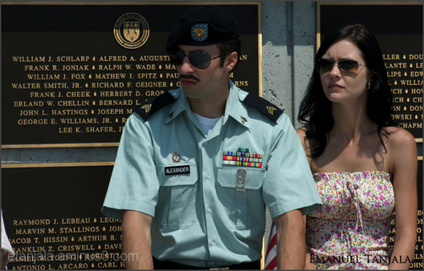 Memorial day in Bedford, Virginia