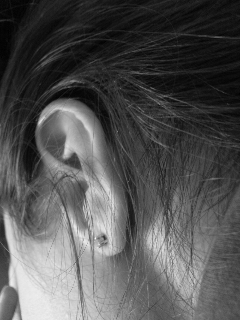 Behind my ear