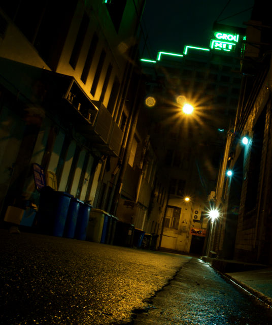 alleyway, east sydney