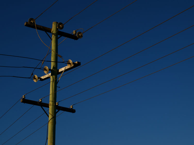 telegraph pole, south coast, nsw