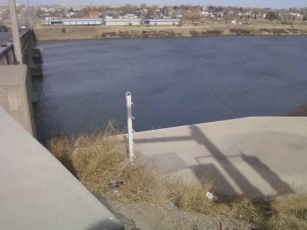 View from 15th st. bridge...Great Falls, MT