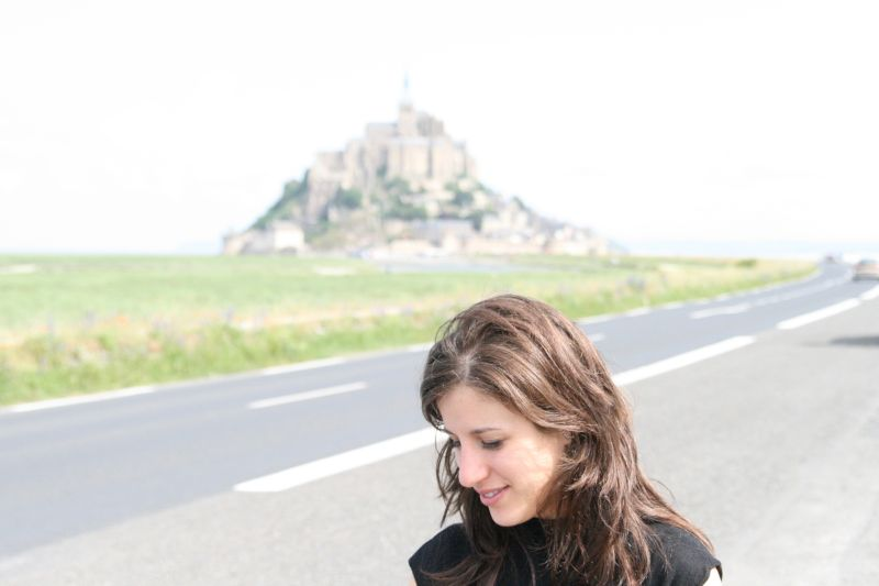 Portrait at Mont Saint Michael