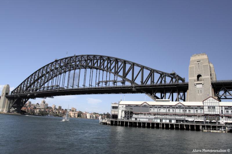 Sydney Harbour Bridge Walsh Bay
