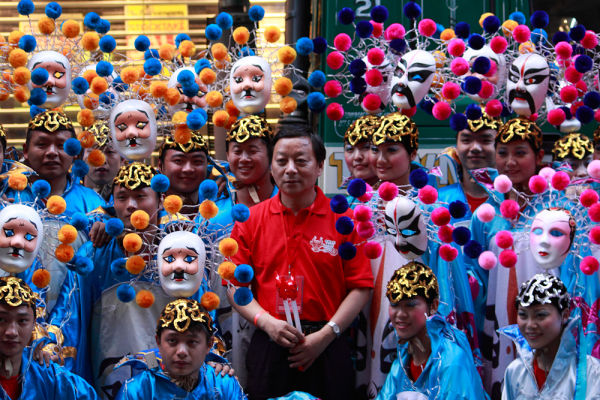 Chinese Dancers in Sydney