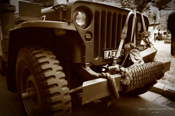 Old Jeep ANZAC 2009