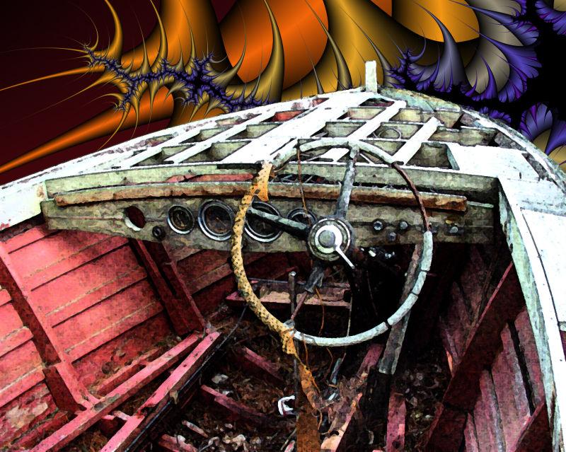 Fractled Boat