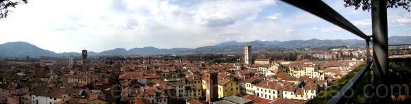 panorama Lucca
