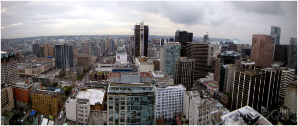 Vancouver Panorama Harbour Centre