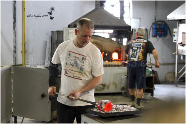 murano glassmaker