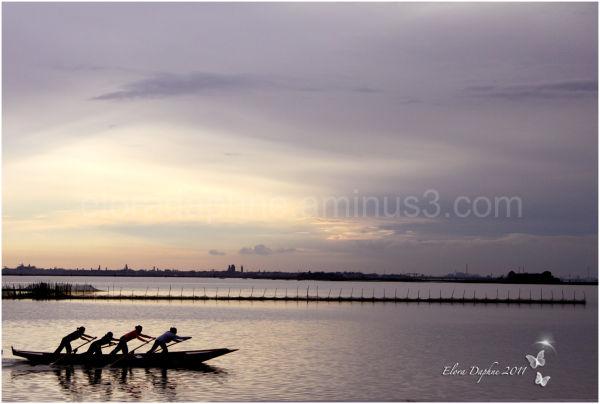 rowing burano venice