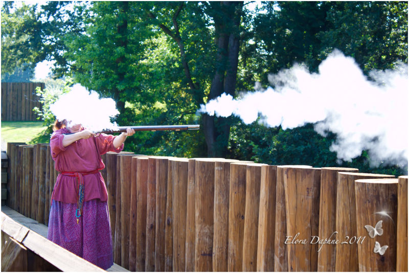 musket fort langley