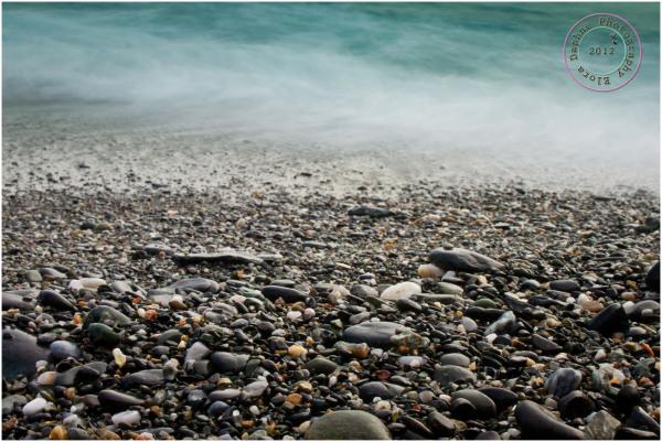 pebbles shore beach rocks