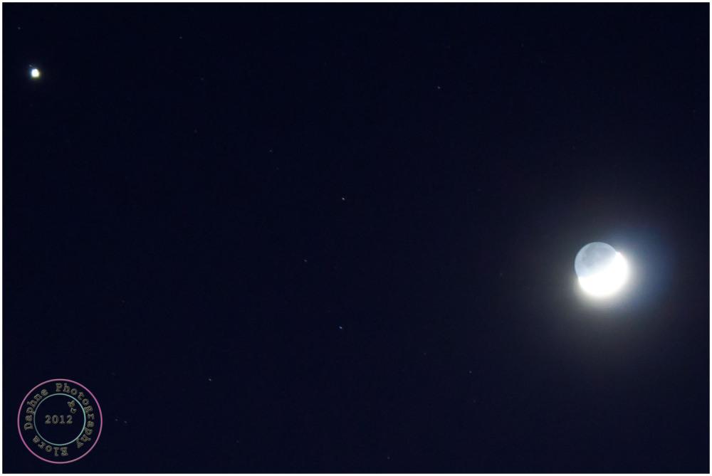 moon jupiter venus