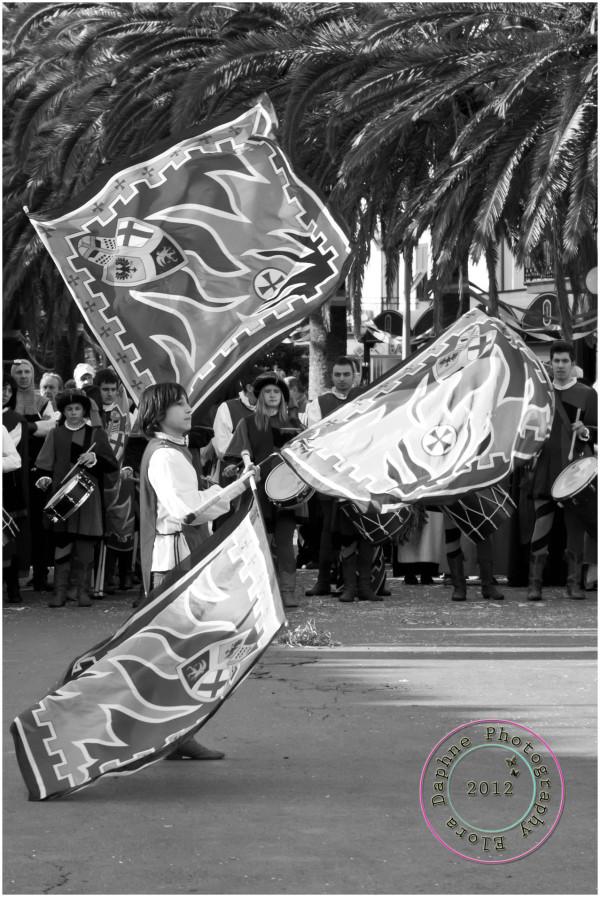flag juggling