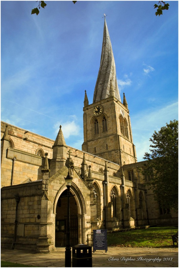 st mary's church chesterfield