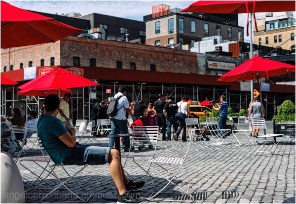 fotografía urbana con motivo de color