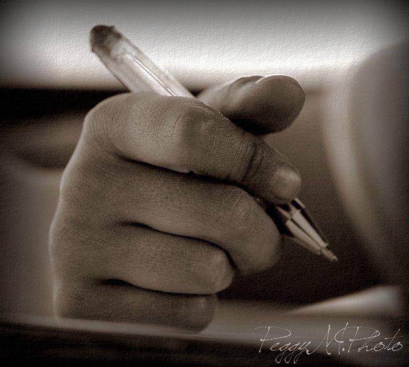 Je t'Ecris ces Quelques Lignes...