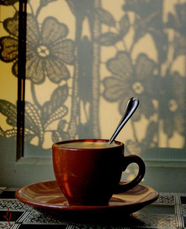 Café dentelé