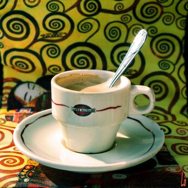Café baiser...