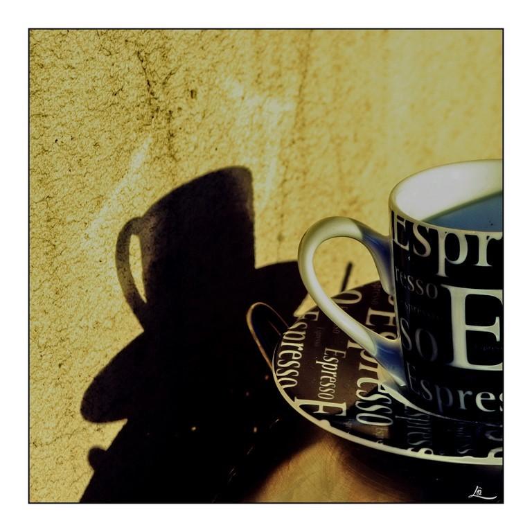 """""""Espresso à boire plus vite que son ombre"""" J.G"""