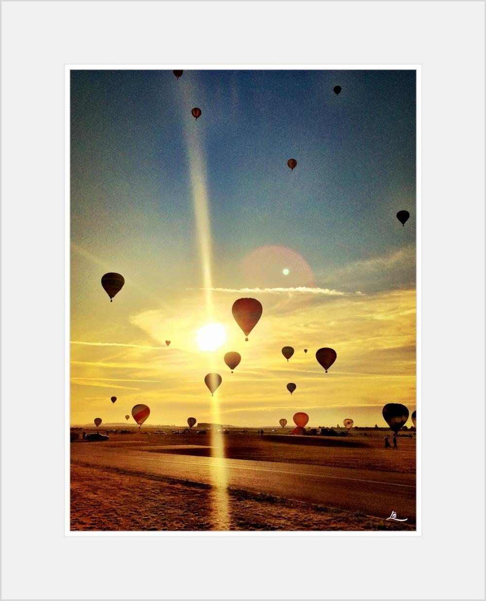 Chambley 2015, Mondial air ballon