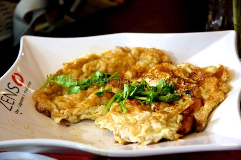 Thai Style Egg Omlette