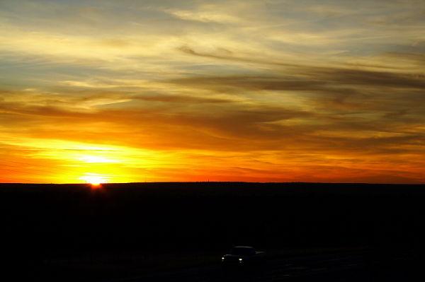Wizard Wells sunset