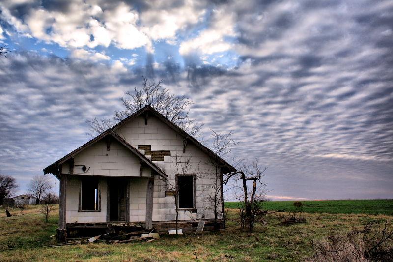 rural farmhouse