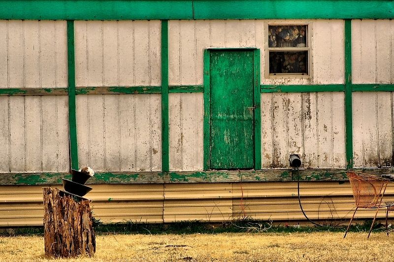 old building in Foard County Texas