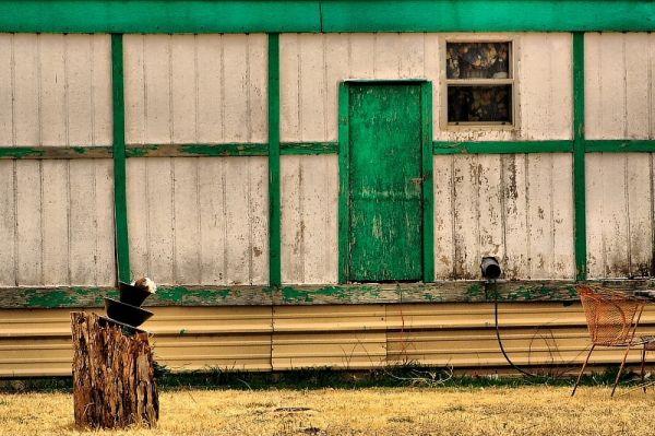 old building in Foard County Texas