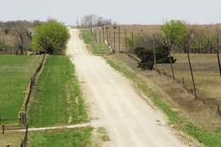 dirt road in oklahoma