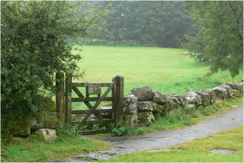 Just a gate