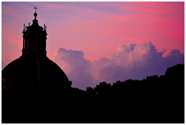Evening in Rome