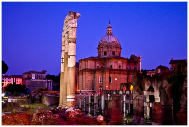 The Forum by Night