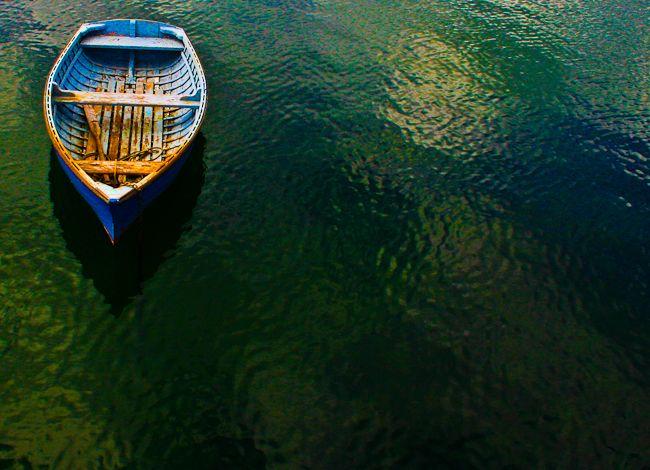 Row boat St Kilda